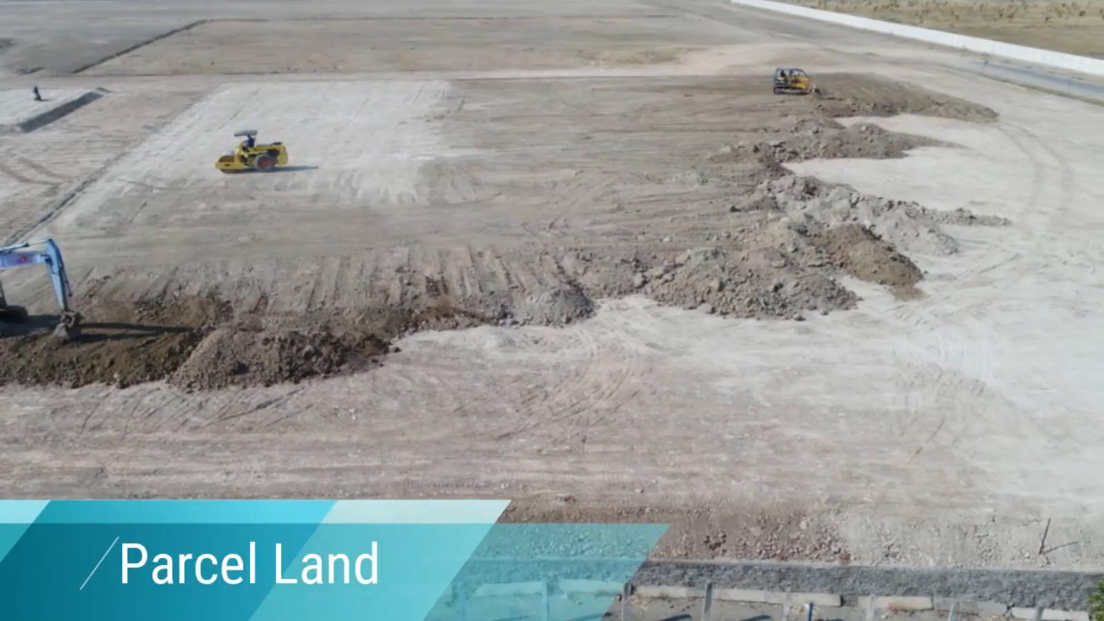 parcel-land